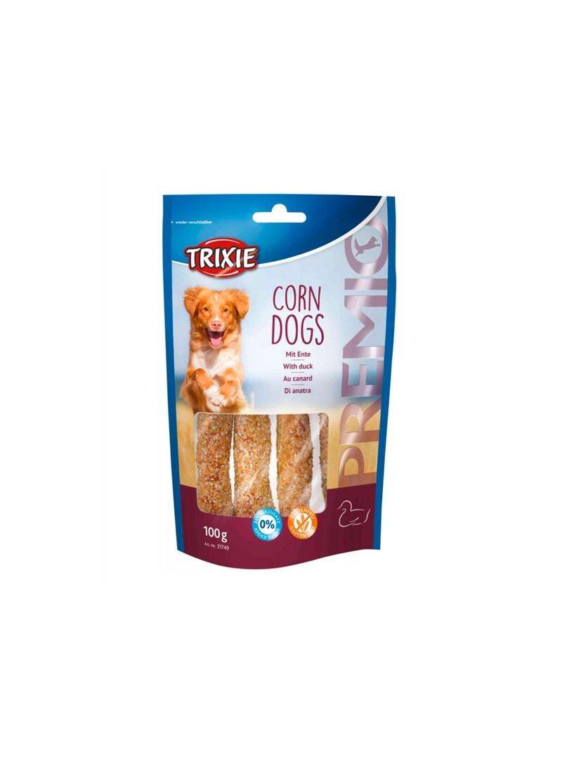 TRIXIE DOG PREMIO CORN DOGS - Pato - 100gr - TX31749
