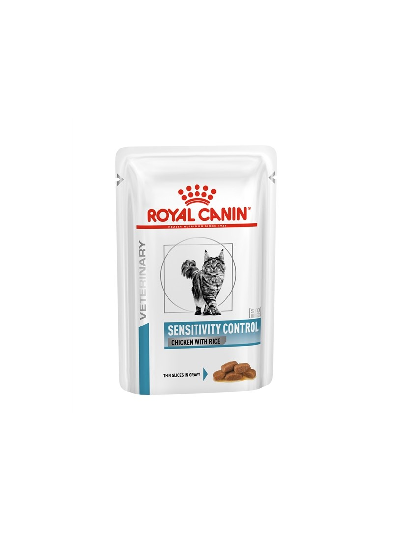 ROYAL CANIN CAT SENSITIVITY CONTROL CHICKEN - SAQUETA - 85gr - RC11423