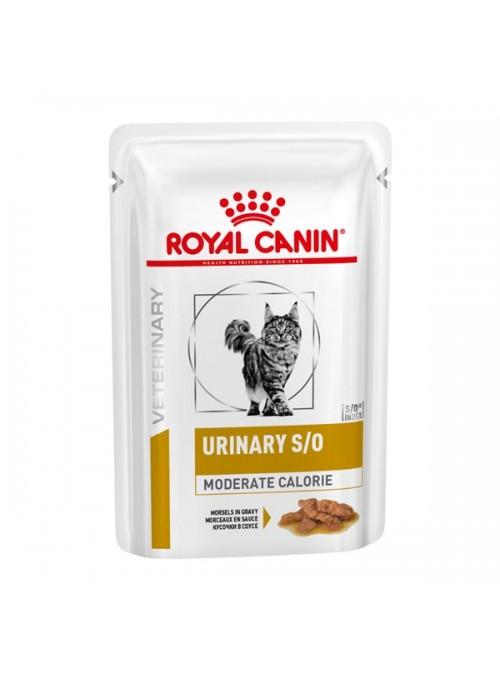 ROYAL CANIN URINARY S/O MODERATE CALORIE CAT   SAQUETA - 85gr - RC4080001