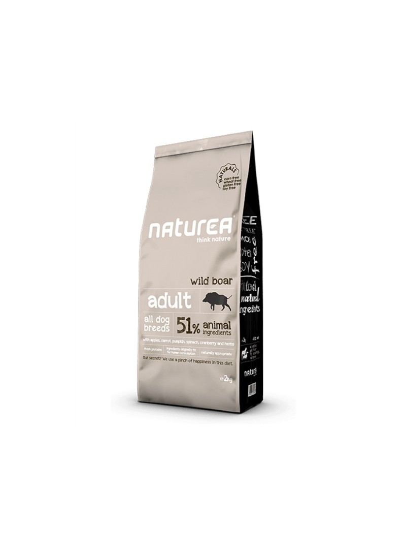 NATUREA NATURALS DOG ADULT WILD BOAR - 12kg - NR109