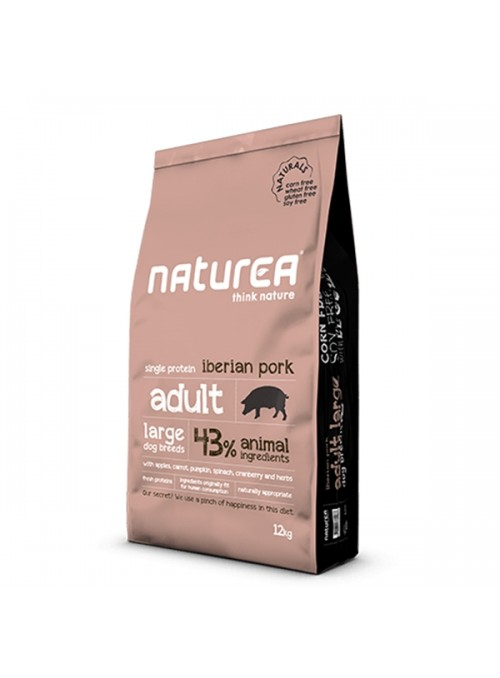 NATUREA NATURALS DOG ADULT LARGE IBERIAN PORK - 12kg - NR111