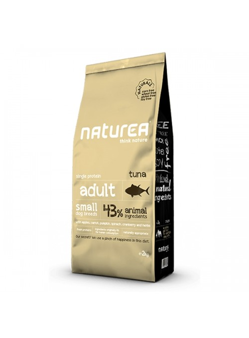 NATUREA NATURALS DOG ADULT SMALL TUNA - 7kg - NR114