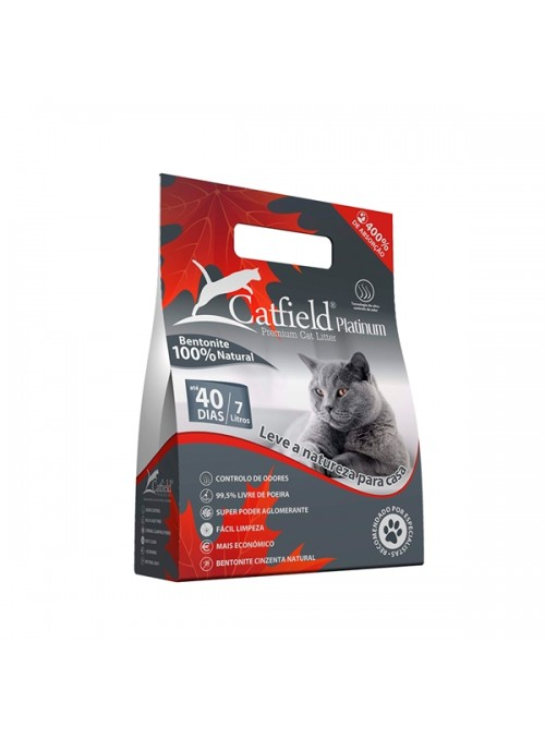 CATFIELD PLATINUM - 7 litros - CATFLD0051