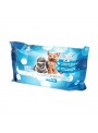 PET CLEANING TOALHETES TALCO - 40 unidades - EXC021