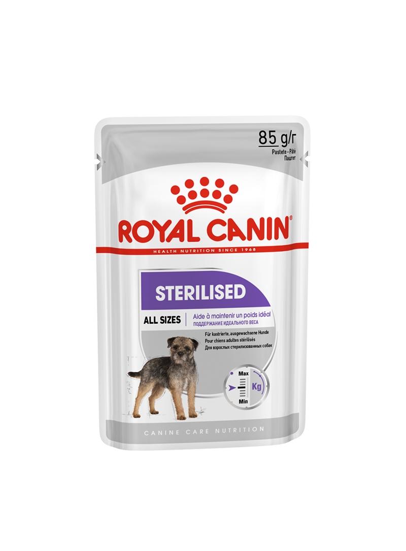 ROYAL CANIN DOG STERILISED - SAQUETA - 85gr - RC1179000