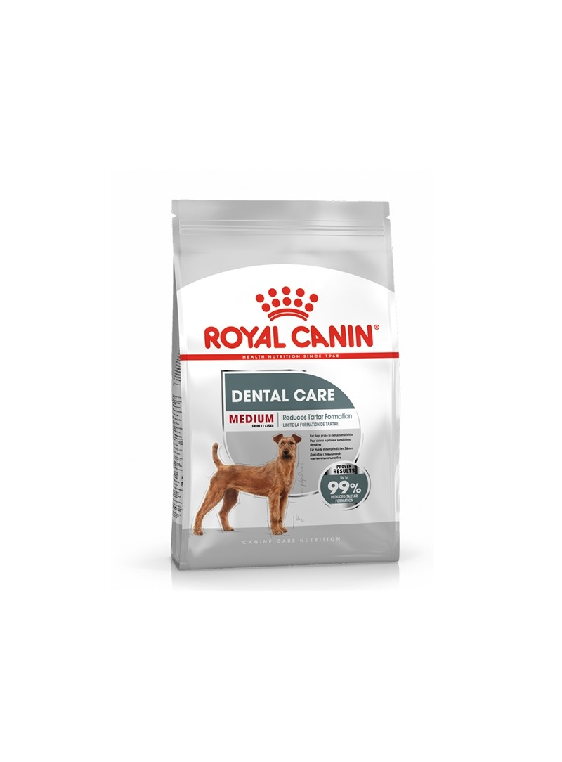 ROYAL CANIN DOG MEDIUM DENTAL CARE - 10kg - RC1222600