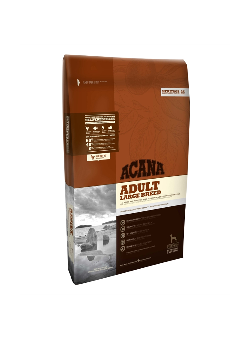 ACANA HERITAGE ADULT LARGE BREED - 11,4kg - ACH118