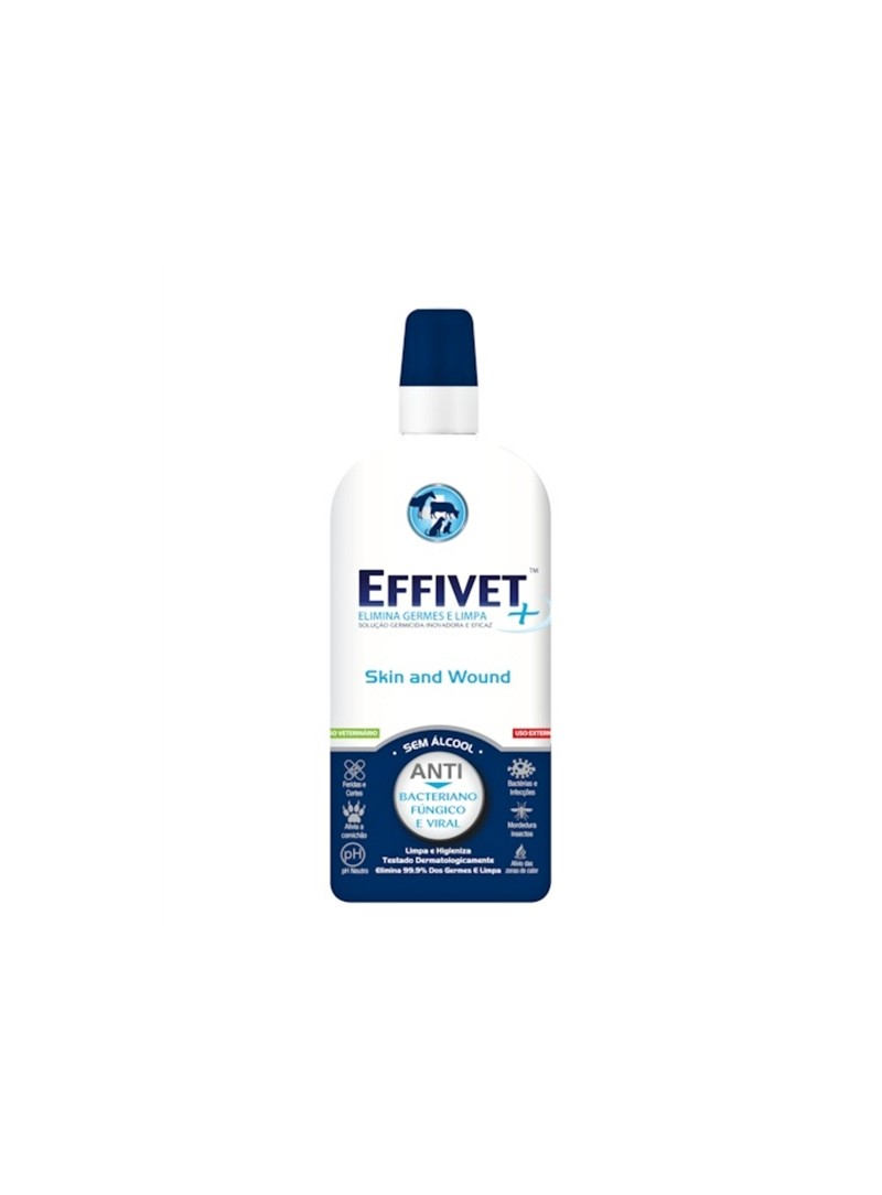 EFFIVET SKIN & WOUND LÍQUIDO - 250 ml - EFFIVE250