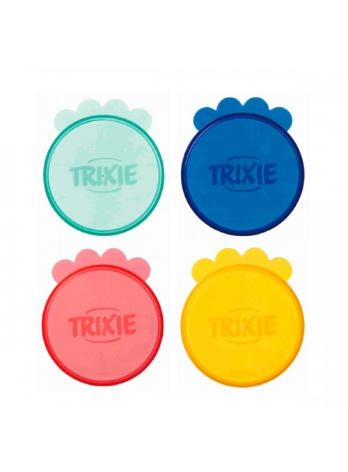 TRIXIE TAMPA P/ LATA - Sortido - 10cm - 2 unidades - TX24552