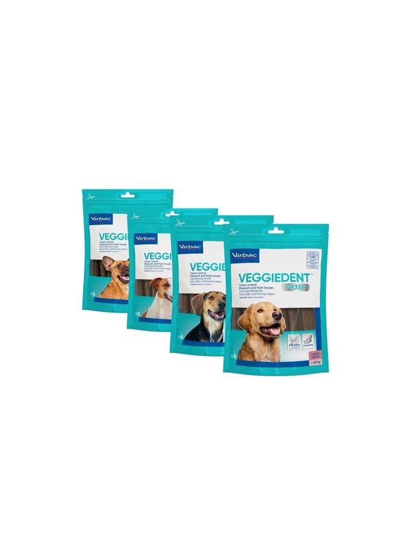 VIRBAC DOG SNACK VEGGIEDENT FR3SH - L - VEGGIEL