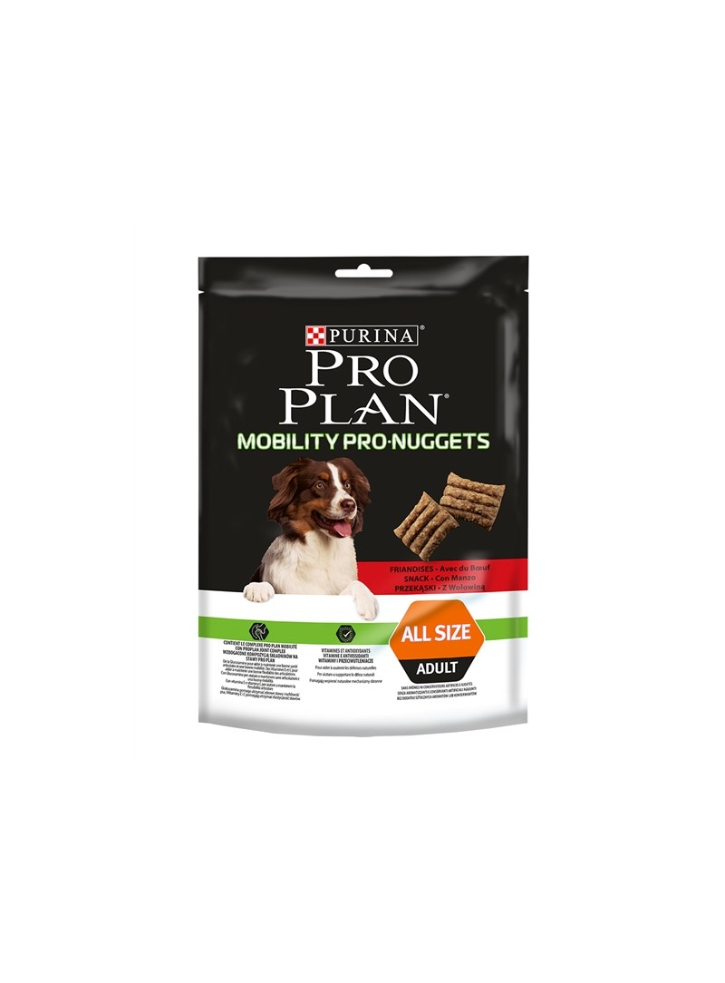 PRO PLAN BISCOITOS MOBILITY PRO-NUGGETS - Vaca - 300gr - P12408241