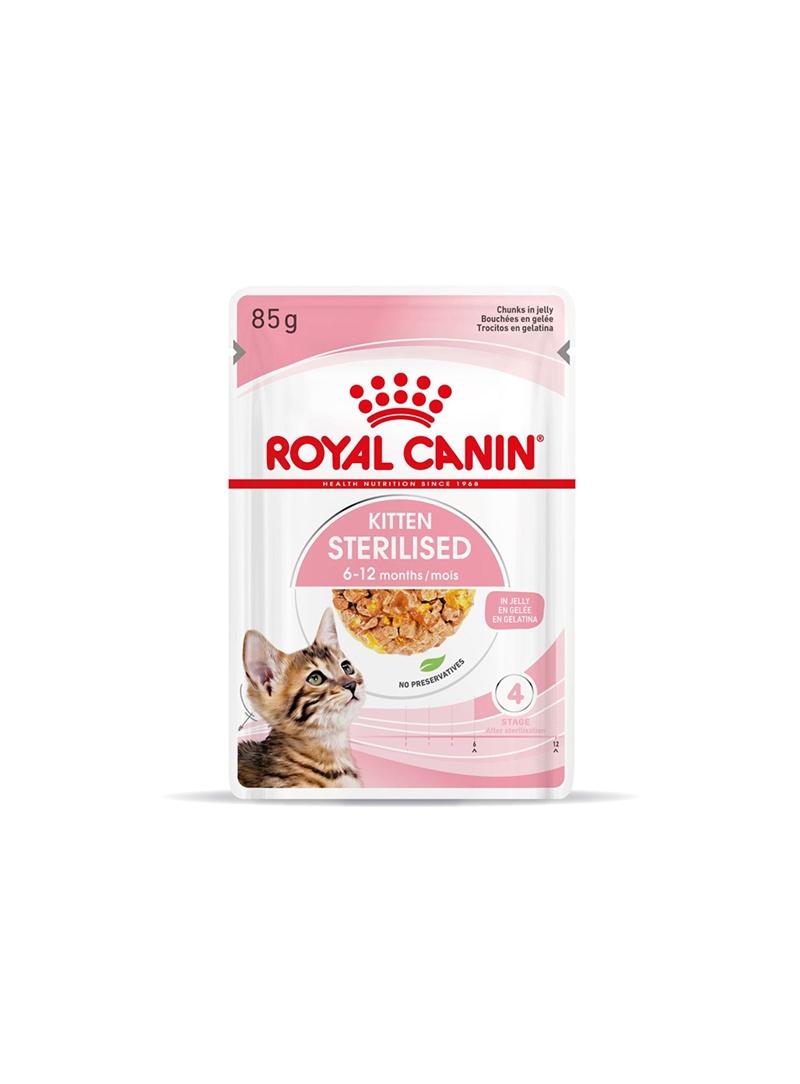 ROYAL CANIN KITTEN STERILISED - JELLY - 85gr - RCKISTJ85
