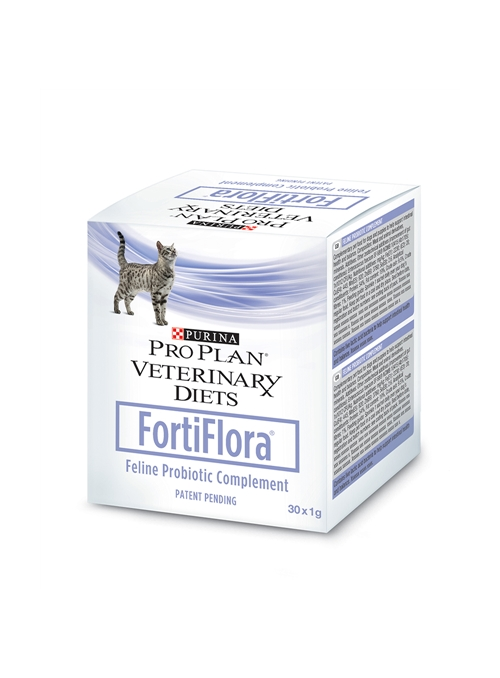 FORTIFLORA FELINE - 30 unidades - FORTIFLOF