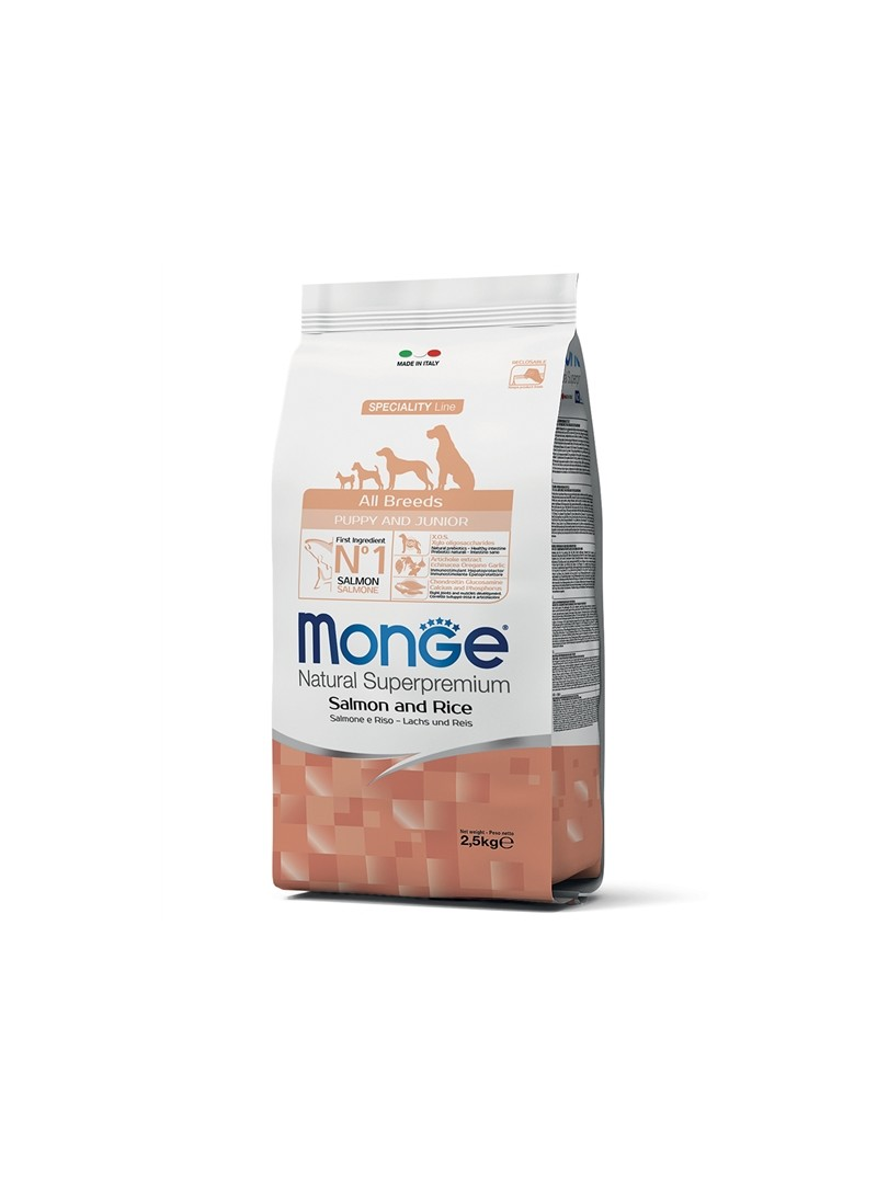 MONGE SPECILITY LINE PUPPY SALMON - 12kg - 0406052016