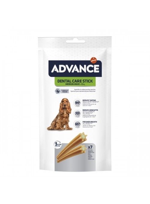 ADVANCE DOG SNACK DENTAL CARE MEDIUM/MAXI - 180gr - AD500370