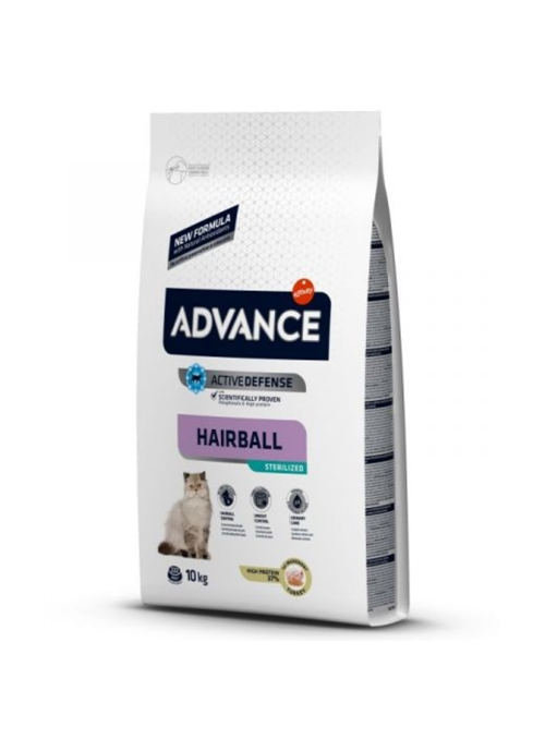 ADVANCE CAT STERILIZED HAIRBALL - 10kg - AD922114