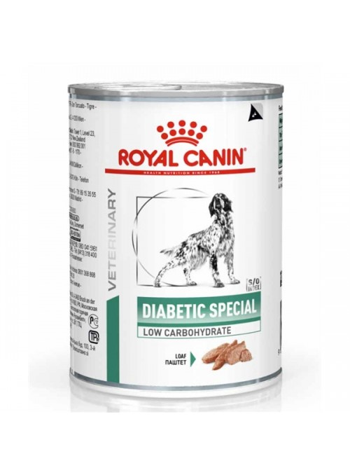 ROYAL CANIN DIABETIC SPECIAL LOW CARBOHYDRATE - 195gr - RCDIASPLC