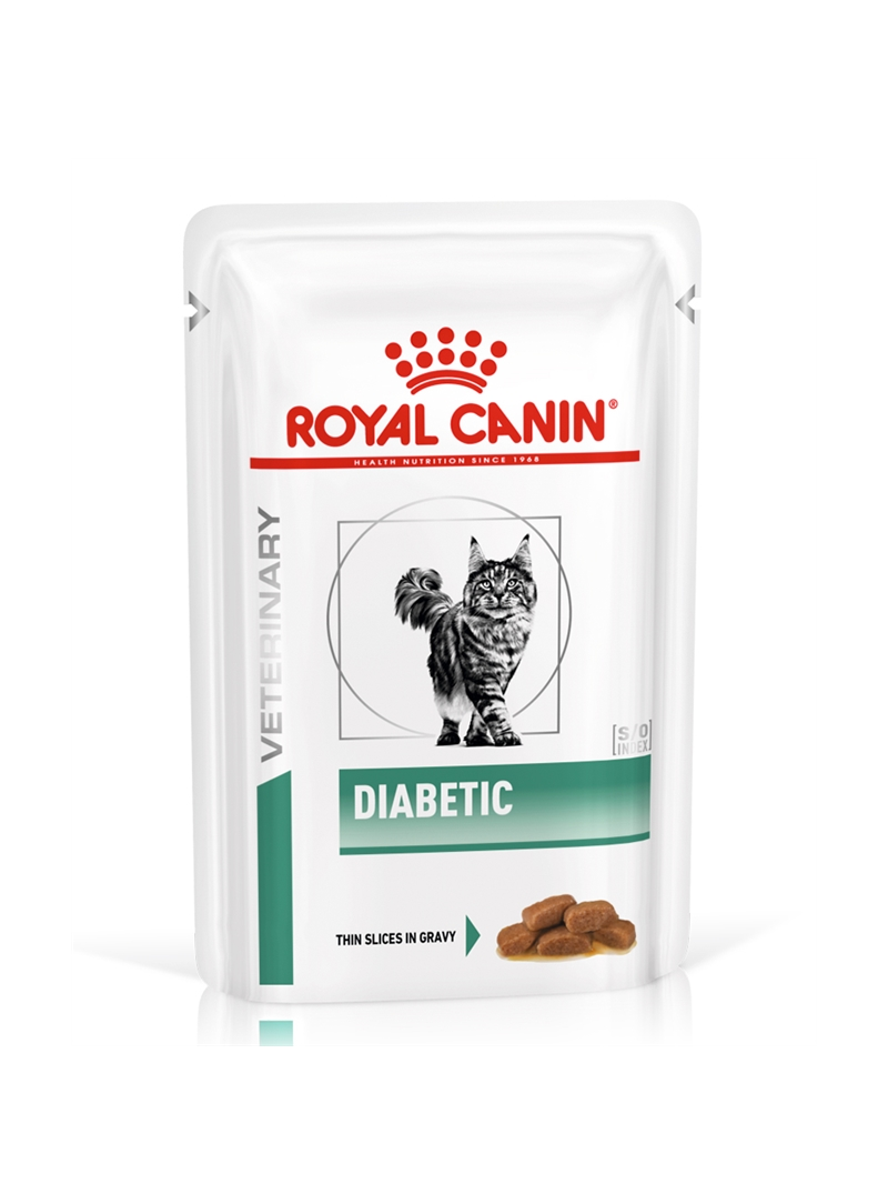 ROYAL CANIN DIABETIC CAT - GRAVY - 85gr - RC4085001