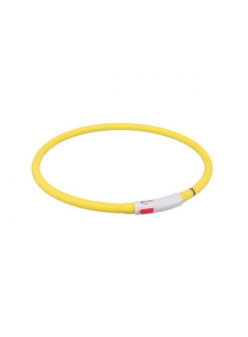 """TRIXIE FLASHER - COLAR """"FLASHER USB"""" - Vermelho - XS - XL - TX12643"""