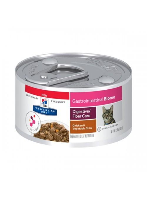 HILLS CAT GASTROINTESTINAL BIOME - LATA - 82gr - HIFGBSLP