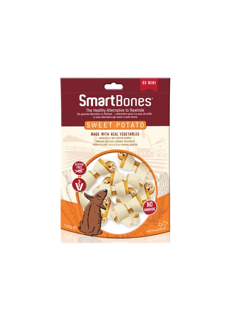SMARTBONES MINI OSSOS SWEET POTATO - 128gr - 1450657