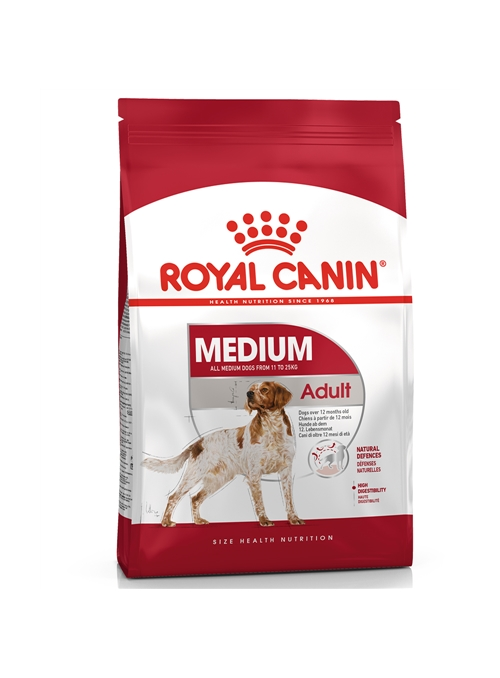 ROYAL CANIN MEDIUM ADULT - 4kg - RCMEDIUMAD04