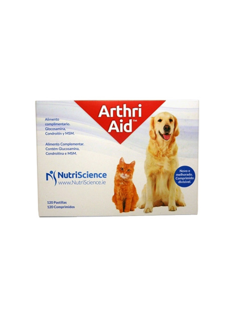ARTHRI-AID - ARTICULAÇÕES - 120 comprimidos - ARTHRI120