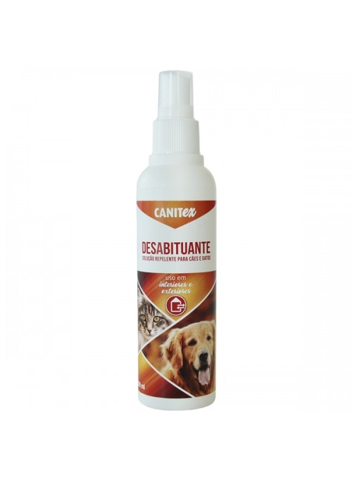 CANITEX DESABITUANTE PARA CÃES E GATOS - 200 ml - CREXC043