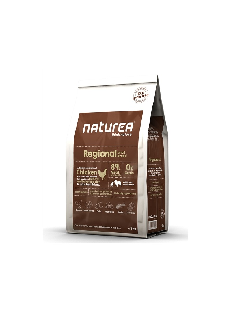 NATUREA REGIONAL SMALL BREED - 2kg - NARSM02