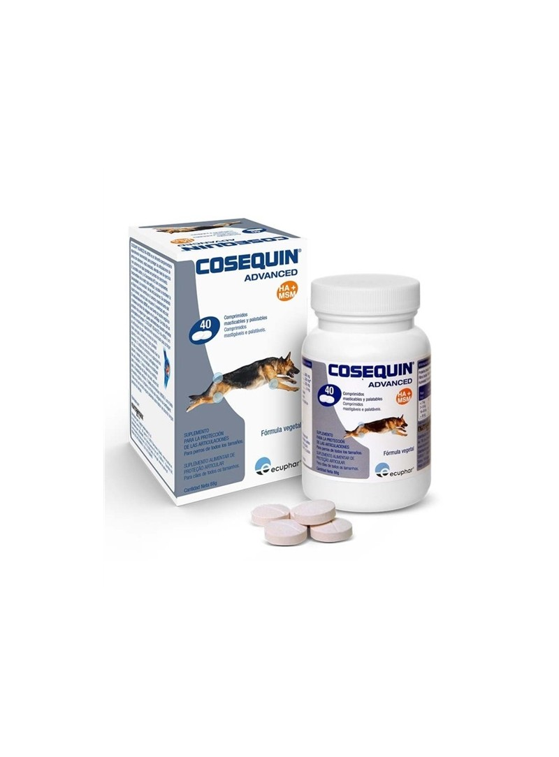 COSEQUIN ADVANCED CÃES - 250 comprimidos - COSEAD250