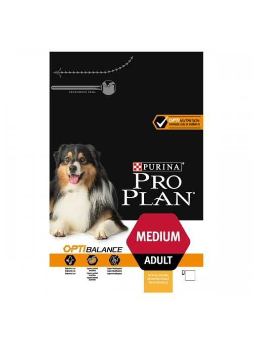 PRO PLAN MEDIUM ADULT - 3kg - PPMAD03