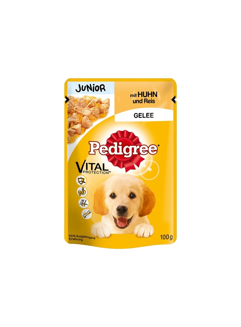PEDIGREE SAQUETAS JUNIOR - Frango - 100gr - PE50811