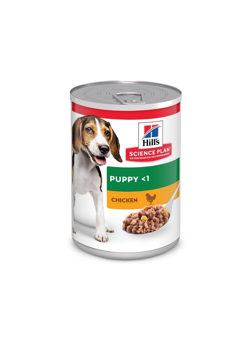 HILLS PUPPY CHICKEN - LATA - 370gr - HI1180