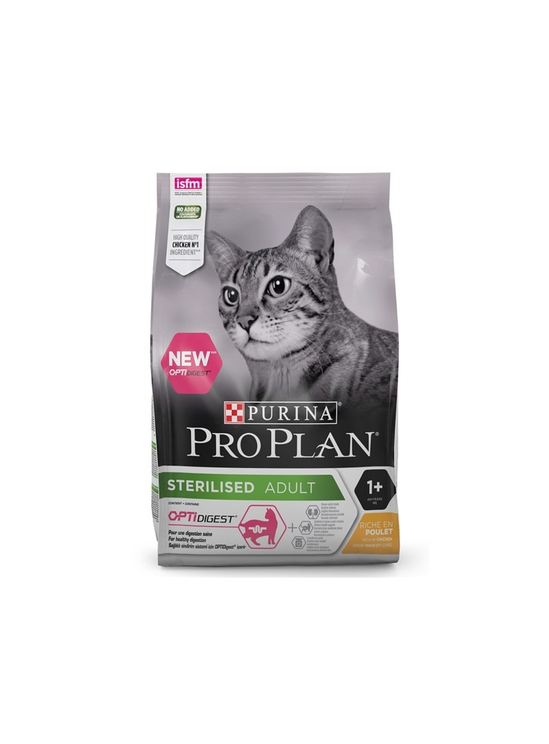 PRO PLAN CAT OPTIDIGEST STERILISED FRANGO - 3kg - P12398611