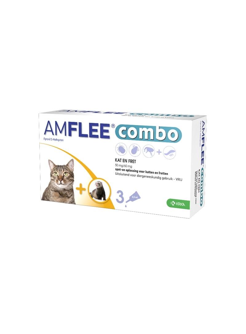 AMFLEE COMBO GATO - 3 pipetas - AMFLEE50