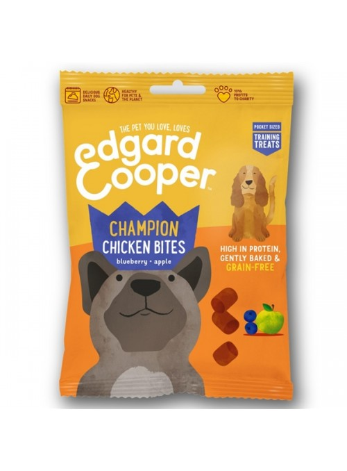 EDGARD & COOPER DOG SNACK GRAIN FREE - Frango - 50gr - EC87007