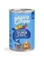 EDGARD & COOPER DOG GRAIN FREE - LATA - Frango e Perú - 400gr - EC85300