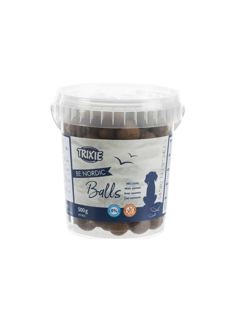 TRIXIE DOG SNACK BE NORDIC - SALMON BALLS - 500gr - TX31865