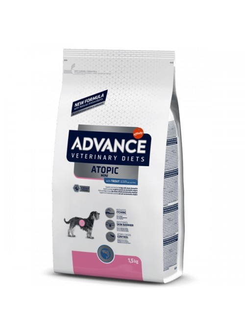 ADVANCE DOG MINI ATOPIC - TRUTA - 1,5kg - AD924225