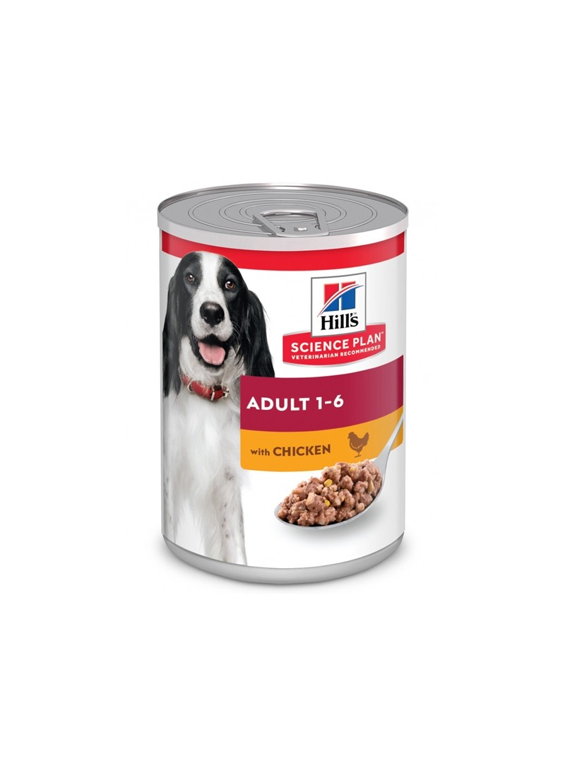 HILLS SCIENCE PLAN DOG ADULT CHICKEN - LATA - 370gr - HI2180