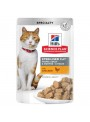 HILLS SCIENCE PLAN CAT YOUNG ADULT STERILISED CHICKEN - SAQUETA - 85gr - HSQ68