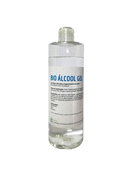 BIO ÁLCOOL GEL - HIGIENIZANTE DE MÃOS - 5 litros - BIOAG5