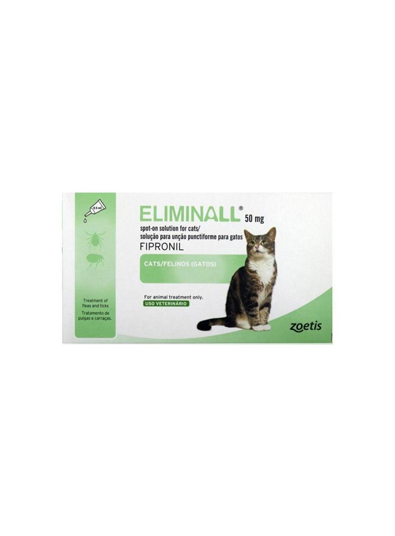 ELIMINALL GATO - 3 pipetas - ELIMGA3