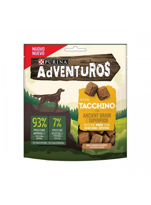 ADVENTUROS DOG SNACK PERÚ E CEREAIS ANCESTRAIS - 120gr - P12422528