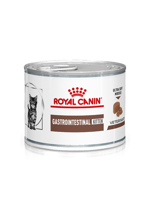 ROYAL CANIN KITTEN GASTRO INTESTINAL MOUSSE - LATA - 195gr - RC1227000