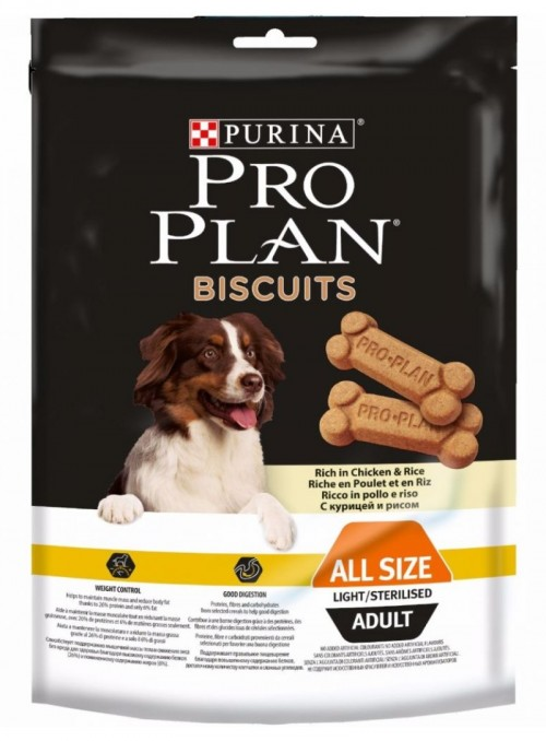 PRO PLAN LIGHT BISCOITOS