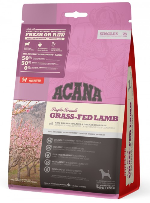 ACANA SINGLES DOG GRASS-FED...