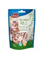 TRIXIE CAT SNACK PREMIO FISH CHICKEN ROLLS - Frango e Peixe - 50gr - TX42702