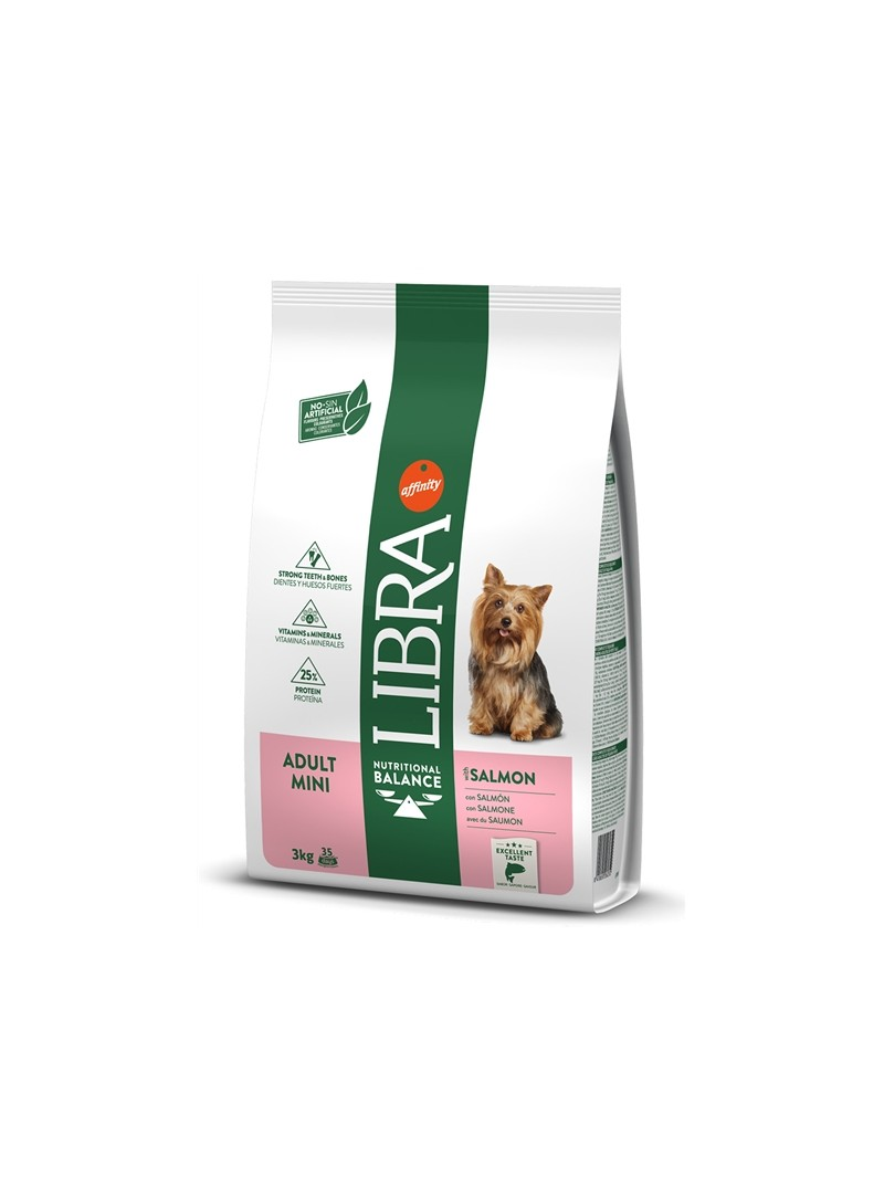LIBRA DOG ADULT MINI SALMÃO - 8kg - L926811