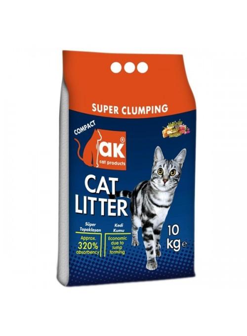 AK CAT LITTER - SABÃO MARSELHA - 10kg - AKSM10